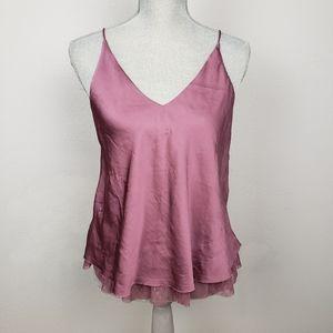 Intimately Free People layered camisole rose S